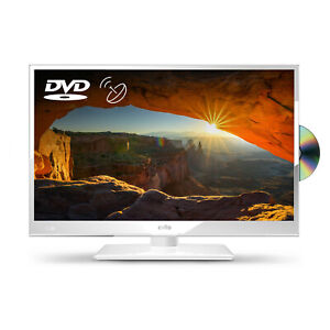 """Cello White 20"""" HD Ready LED TV with Freeview and Satellite Tuner + DVD"""