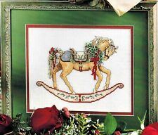 ✔️ Teresa Wentzler Regal CHRISTMAS ROCKING HORSE Chestnut Cross Stitch Chart