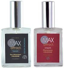 2 MAX ATTRACT RENEGADE HYPNOTIC sex attractant cologne pheromone infused spray