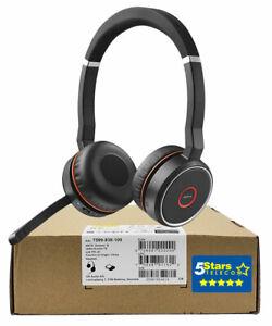 Jabra Evolve 75 UC Stereo Wireless Headset (7599-838-109) Brand New