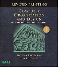 Computer Organization and Design: The Hardware/Software Interface. Third Edition