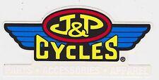 J&P CYCLES STICKER BIKER CYCLE MOTORCYCLE DECAL JP CYCLE TOOLBOX BIKE RACING USA