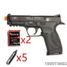 CO2 Airsoft Pistol Handgun 394 FPS Licensed Smith & Wesson M&P 40