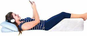 Leg Wedge Foam Pillow Elevating Bed Back Pain Hip Leg & Knee Support Sciatica