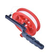 Diameter 12cm Line Twisted Tool Handle Winder Kite String Wheel 100M