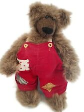 Heavy Adjustable Bear with Bearville overalls