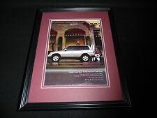 1999 Toyota Rav4 Framed 11x14 ORIGINAL Vintage Advertisement