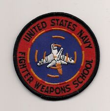 USN TOPGUN patch US NAVAL FIGHTER WEAPONS SCHOOL