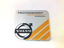 Nuevo Aluminio Cepillado Volvo Motorsport Europa placa de coche placa XC90