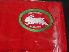 EMBROIDERED  BATH TOWEL  -  'FOOTBALL TEAMS'