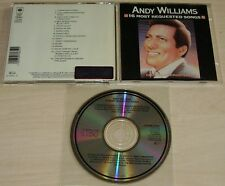 ANDY WILLIAMS 16 Most Requested Songs CD 1986 Early Japan for Europe Pressing