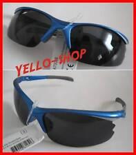 Allrounder Fahrrad Sport Sonnenbrille blau Cat 3