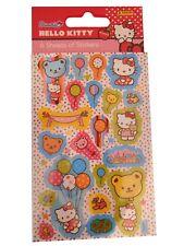 Hello Kitty Fleurs Autocollants Réutilisable Feuille Autocollant Papier Artisanat