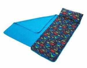 NWT Gumballs Nap Mat DINOSAURS sleeping mat w/ attached blanket and pillow