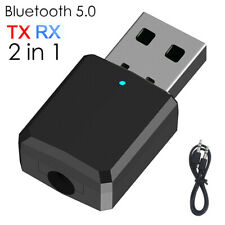 ZF-169 Wireless Bluetooth 5.0 Audio Receiver Transmitter 2-in-1 TV PC Adapter