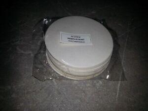 20 Stück Bierfilze RUND (10 cm Durchmesser) unbedruckt   NEU & OVP
