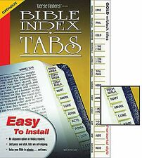 Bible Standard Index Tabs Catholic Version  SKU KS168