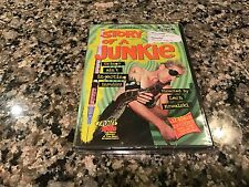 Story Of A Junkie New Sealed DVD! Troma Team! Ultra Graphic!