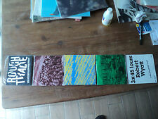 "LOT de 3 45 tours de Robert WYATT (SOFT MACHINE) 7"" packaging ROUGH TRADE french"