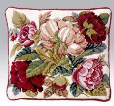 Ehrman Blooming Rose Crema David Merry NEEDLEPOINT Arazzo KIT Paese Nuovo