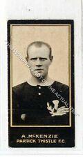 (Ga8181-447) Smith, Footballers, A.McKenzie, Partick Thistle 1912 VG-EX