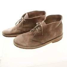 Clarks 9 Desert Boots Booties Chukka Beige Lace Up Ankle Height Men's