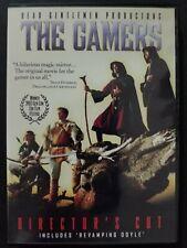 The Gamers: Director's Cut (DVD, 2006) Comedy Adventure Region 1 OOP