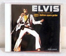 Music CD Elvis Madison Square Garden Recorded Live