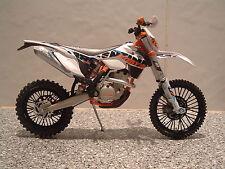 1:{12} {15} KTM 350 EXC-F EXC F EXCF MOTOCROSS ENDURO MODELL 4 STROKE