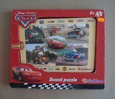 Sound Puzzle en Bois - CARS - Disney PIXAR - EICHHORN - réf. 100003258    NEUF