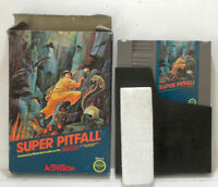 Super Pitfall - With Box (No Manual) - NES Nintendo -Tested