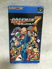 Rock Man 7 Mega Man Nintendo Super Famicom SFC SNES Japan Authentic