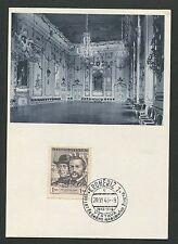 CSSR MK 1948 Kromeriz maximum carta carte MAXIMUM CARD MC cm d4343
