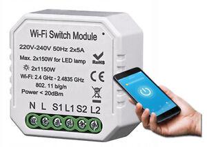 Tuya Wifi Smart Schalter Modul 2G Sprachsteuerung Für Alexa Google Assistant