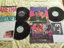 ARETHA FRANKLIN x 4 - IMPORT - LYRICS - DUETS X 3 - JOB LOT – JUST £15