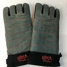 Weber Grill Gloves Heat Resistant Barbecue Comfort Outdoor Gas Grills Charcoal