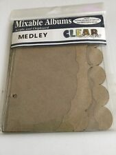 Mixable Albums Acrylic And Chipboard Medley