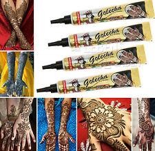 4x Golecha Pâte de henné noir intuben á 25g - MEHENDI pour - Testé cliniquement
