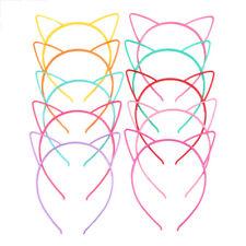 5pcs Hair Accessories Headdress Cat Ears Headband Kids HairHoop Cute Headwear TO