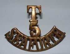 T 5 SEAFORTH SHOULDER TITLE