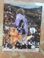 Amare Stoudemire Signed Photo 8x10 NBA Phoenix Suns PSA/DNA COA Autograph