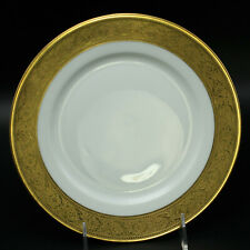 Haviland Thistle Salad Plate Limoges Porcelain China 24K Gold Trim