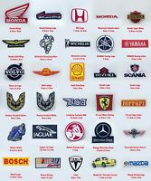 Motor brand sports racing badges collection Iron on Sew on Embroidered Patch
