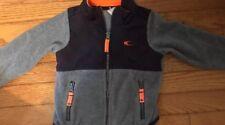 Carter's Baby Boy Fleece ZipperJacket 24 Months Gray and Black - EUC