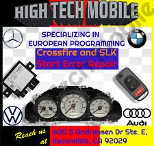 Chrysler CROSSFIRE and Mercedes Benz SLK320 SLK230 start error Repair SERVICE