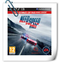 PS3 NEED FOR SPEED RIVALS PlayStation Electronic ART Racing Games EA