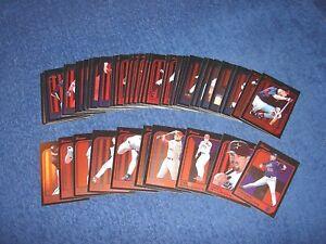 1997 BOWMAN BASEBALL 45 DIFFERENT INTERNATIONAL PARALLEL CARDS (18-19)