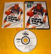 NBA LIVE 2003 Pc Versione Ufficiale Italiana 1ª Edizione ○○○○ COMPLETO