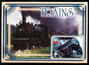 Timor 2001 Mini Feuille 100% Neuf ** Scout, train, Cindwâerella