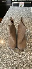 DV By Dolce Vita Tan Suede Booties Size 8